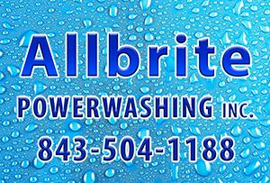 Allbrite Powerwashing Logo
