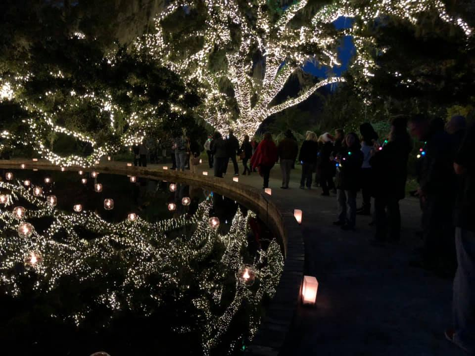 Night of a Thousand Candles at Brookgreen Gardens