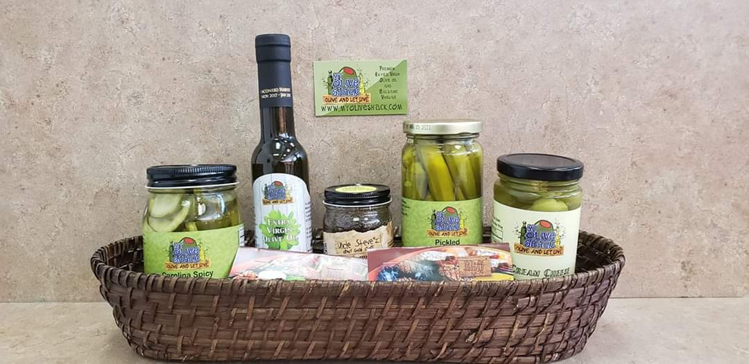 My Olive Shack product basket