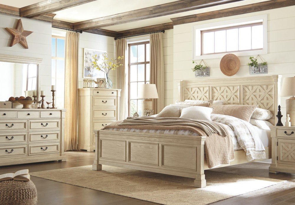 Light wood bedroom set at Above & Beyond Furniture Super Store