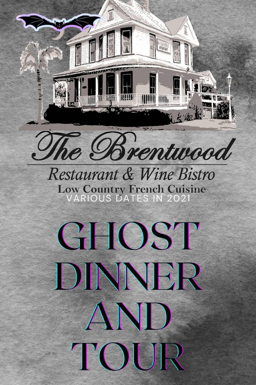 The Brentwood Restaurant and Wine Bar Ghost Dinner and Tour